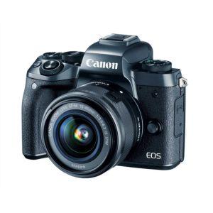 Ex-Demo Canon EOS M5   15-45mm Lens   24.2 MP   APS-C CMOS Sensor   Full HD Video   Wi-Fi & Blu