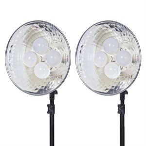 Ex-Demo Dorr DL-400 LED Continuous Lighting Kit   2 Light Sets   Daylight 5000K   3200 Lux/1m