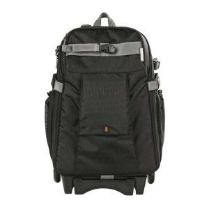Ex-Demo Dorr Dark Black Travel Medium Trolley Backpack with Wheels