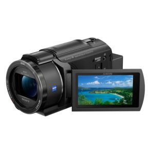 Sony AX43 4K Handycam - 4K Ultra HD - Wi-Fi - 20x Optical Zoom - 8.29 MP