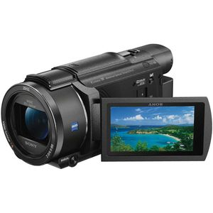 Sony AX53 Camcorder - 4K Ultra-HD - 20x Optical Zoom - Exmor R CMOS Sensor
