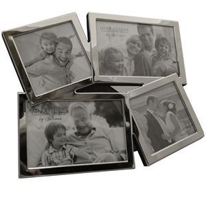 Silver Multi Aperture Photo Frame