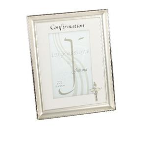 Juliana Silver Plated Confirmation 6x4 Photo Frame