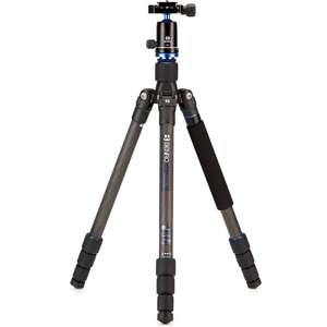 Benro Travel Angel Series 1 Carbon Fibre 4 Section Tripod with V0E Ball Head