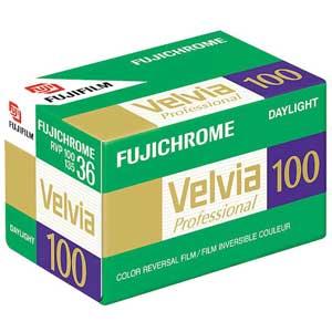 Fujifilm Velvia 100 36 Exp Colour Slide Film
