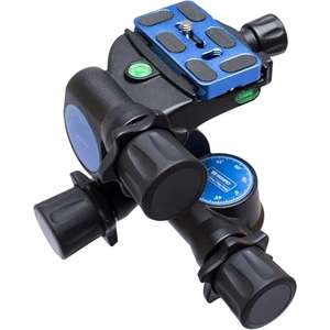 Benro GD3WH Precision 3-Way Geared Tripod Head