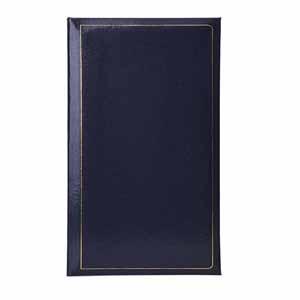 Grafton Blue 6x4 Slip In Photo Album - 300 Photos