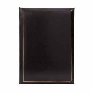 Grafton Black Self Adhesive Photo Album - 40 Sides