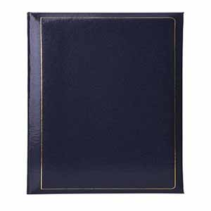 Grafton Blue Self Adhesive Photo Album - 40 Sides