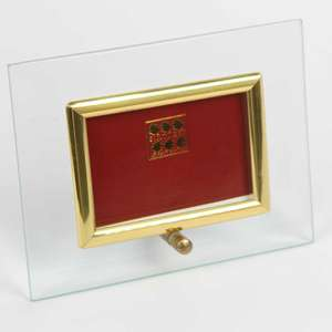 Sixtrees Flat Bevelled Glass Gold 6x4 Photo Frame Horizontal