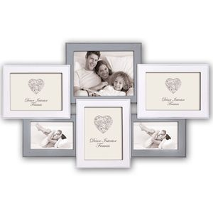 Hivi Wood Multi Aperture Photo Frame for 6x4 and 7x5 Photos