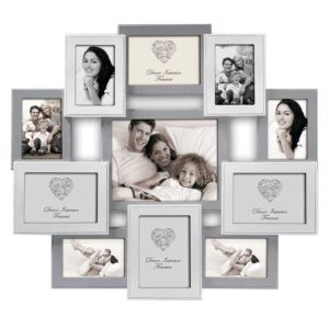 Rouen Multi Aperture Photo Frame, Real Wood, Size 25 x 27.5 inches Overall