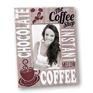 Chocolate Wood 6x4 Photo Frame