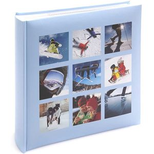 Winter Holiday Slip In 6x4 Photo Album - 200 Photos