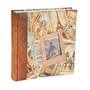 Euro Traveller Slip In 6x4 Photo Album - 200 Photos