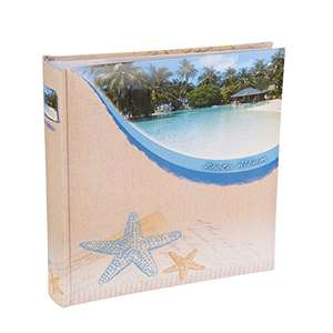 Beach Star Fish Slip In 6x4 inch Memo Photo Album - Holds 200 Photos
