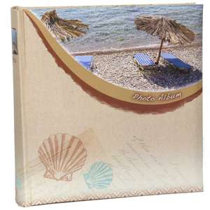 Beach Slip In Photo Album | 6x4 Inch Photos | 200 Photos | Memo
