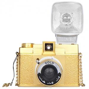Lomography Diana Mini Gold Edition Camera with Flash