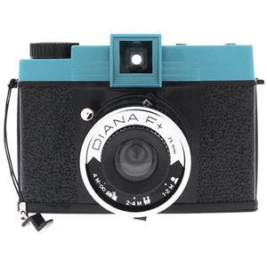 Lomography Diana F+ Black and Blue Medium Format Camera