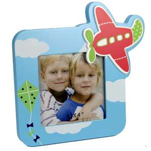 Tommy Aeroplane 4x4 Photo Frame