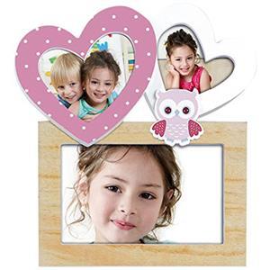Viola Multi Aperture Photo Frame For Three Photos