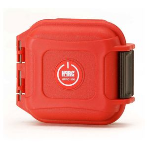 HPRC 1100 Hard Resin Case with Memory Card Holder - Red