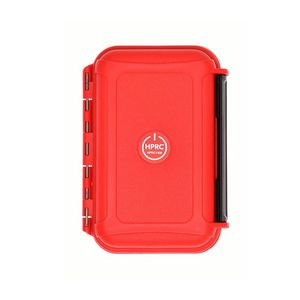 HPRC 1300 Hard Resin Case with Memory Card Holder - Red