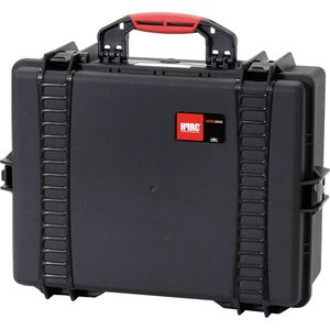 HPRC 2600 Hard Resin Case with Cubed Foam - Black
