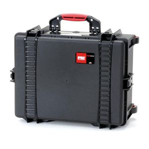 HPRC 2600W Wheeled Hard Resin Case with Cubed Foam - Black