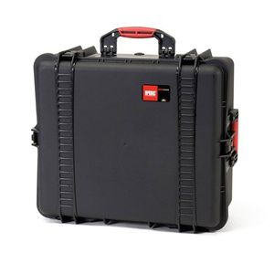 HPRC 2700W Wheeled Hard Resin Case with Cubed Foam - Black