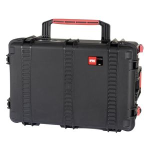 HPRC 2760W Wheeled Hard Resin Case with Cubed Foam - Black