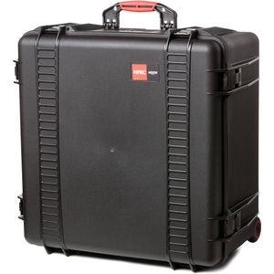 HPRC 4600W Wheeled Hard Resin Case with Cubed Foam - Black