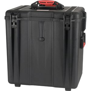 HPRC 4700W Wheeled Hard Resin Case with Cubed Foam - Black