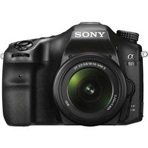Sony A68   18-55mm Lens   24 MP   APS-C CMOS Sensor   Full HD Video   Wi-Fi