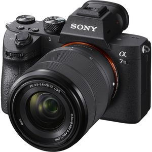 Sony A7 III Camera with 28-70mm Lens