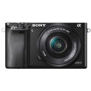 Sony A6000   16-50mm Power Zoom Lens   24.3 MP   APS HD CMOS Sensor   Full HD Video   Wi-Fi