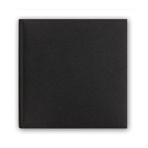 Berlin Cotton Black Traditional Photo Album - 40 Sides Overall Size 105x9.75 Inches