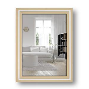 Paros Beige Wood 6x4 Photo Frame