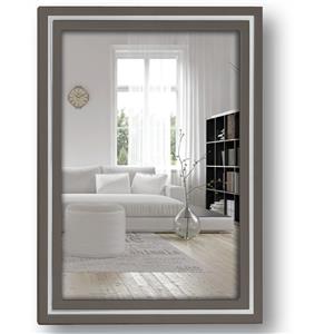 Paros Grey Wood 6x4 Photo Frame