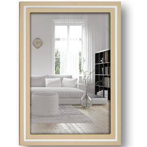 Paros Beige Wood 7x5 Photo Frame