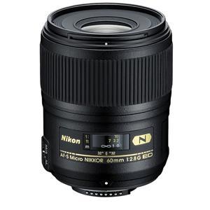 Nikon 60mm f2.8G AF-S ED Micro Lens