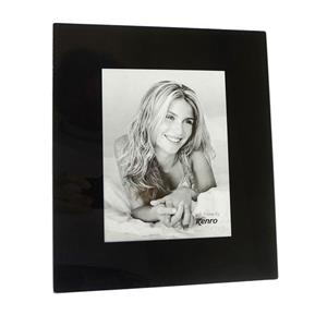Black Glass 8x6 Photo Frame