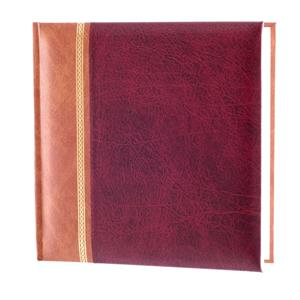Grace Burgundy 6x4 Slip In Photo Album - 200 Photos