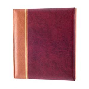 Grace Burgundy Traditional Photo Album - 100 Pages