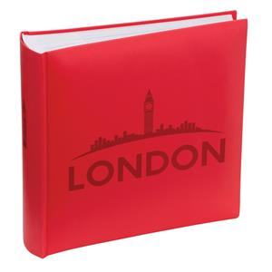 London Skyline Traditional Photo Album - 100 Sides