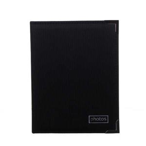 Black 6x4 Slip In Photo Album - 200 Photos