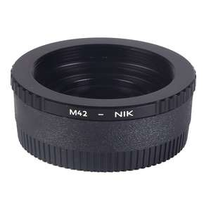 K&F | M42 to Nikon F Mount Camera Adapter | Converts M42 Lens to Fit Nikon F Mount Cameras