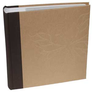 Kington Brown | Slip In 6x4 Photo Album I 200 Photos | Memo