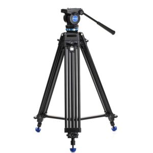 Benro Aluminium Dual-Tube 3 Section Video Tripod Kit