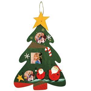 Christmas Tree Hanging Photo Frame Decoration
